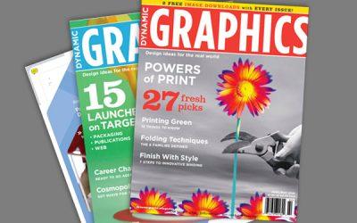 مجله گرافیک دینامیک Dynamic Graphic Magazine