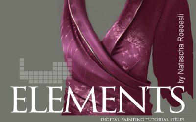 نقاشی دیجیتالی برای الیاف لباس ELEMENTS by natascha roeoesli