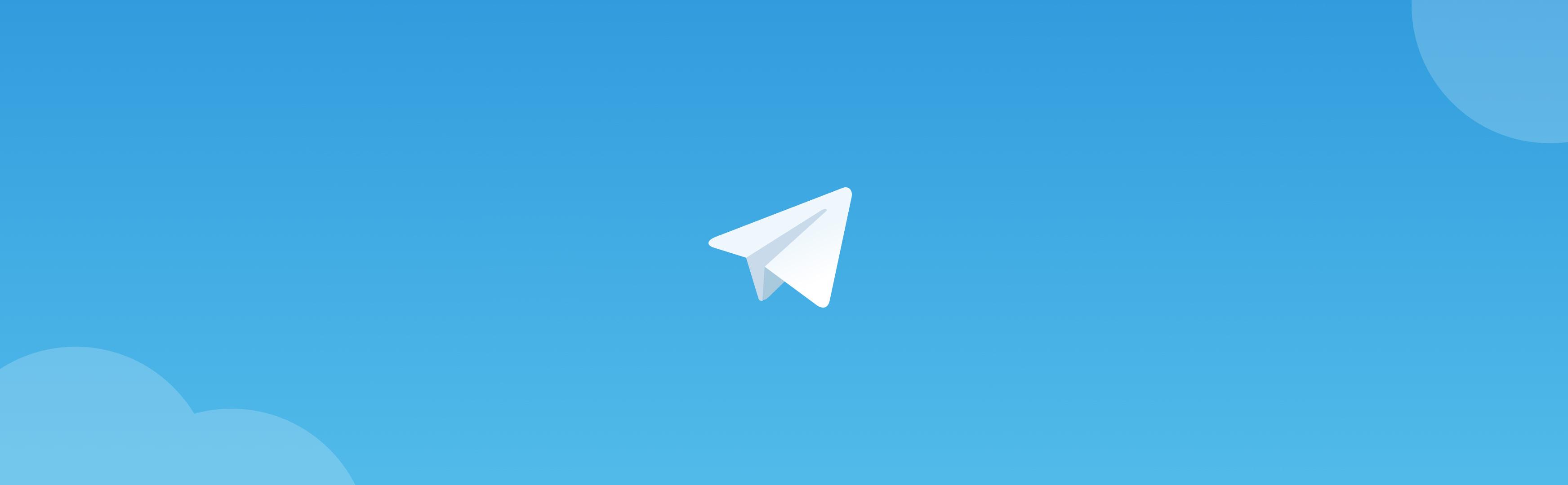 TELEGRAM MESSENGER BANNER