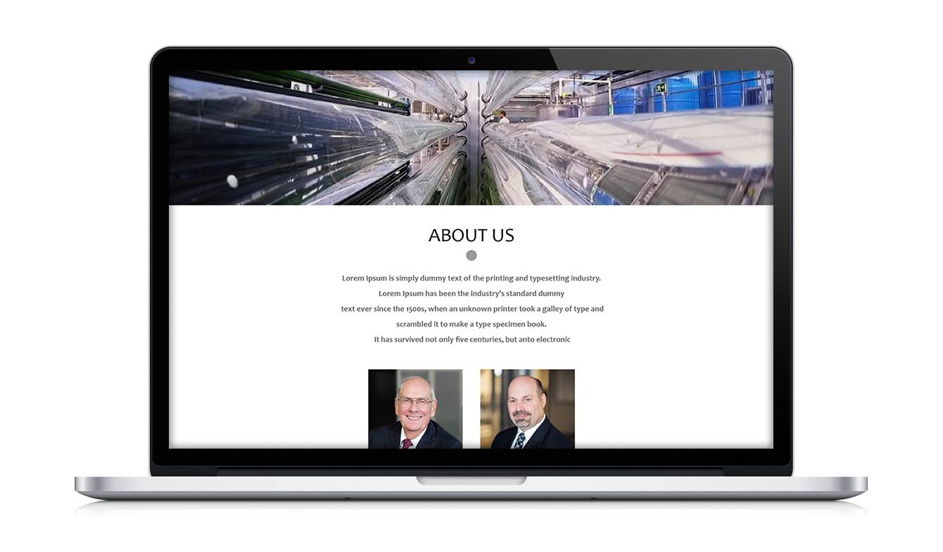 طراحی سایت محصولات دقیق بهنگر