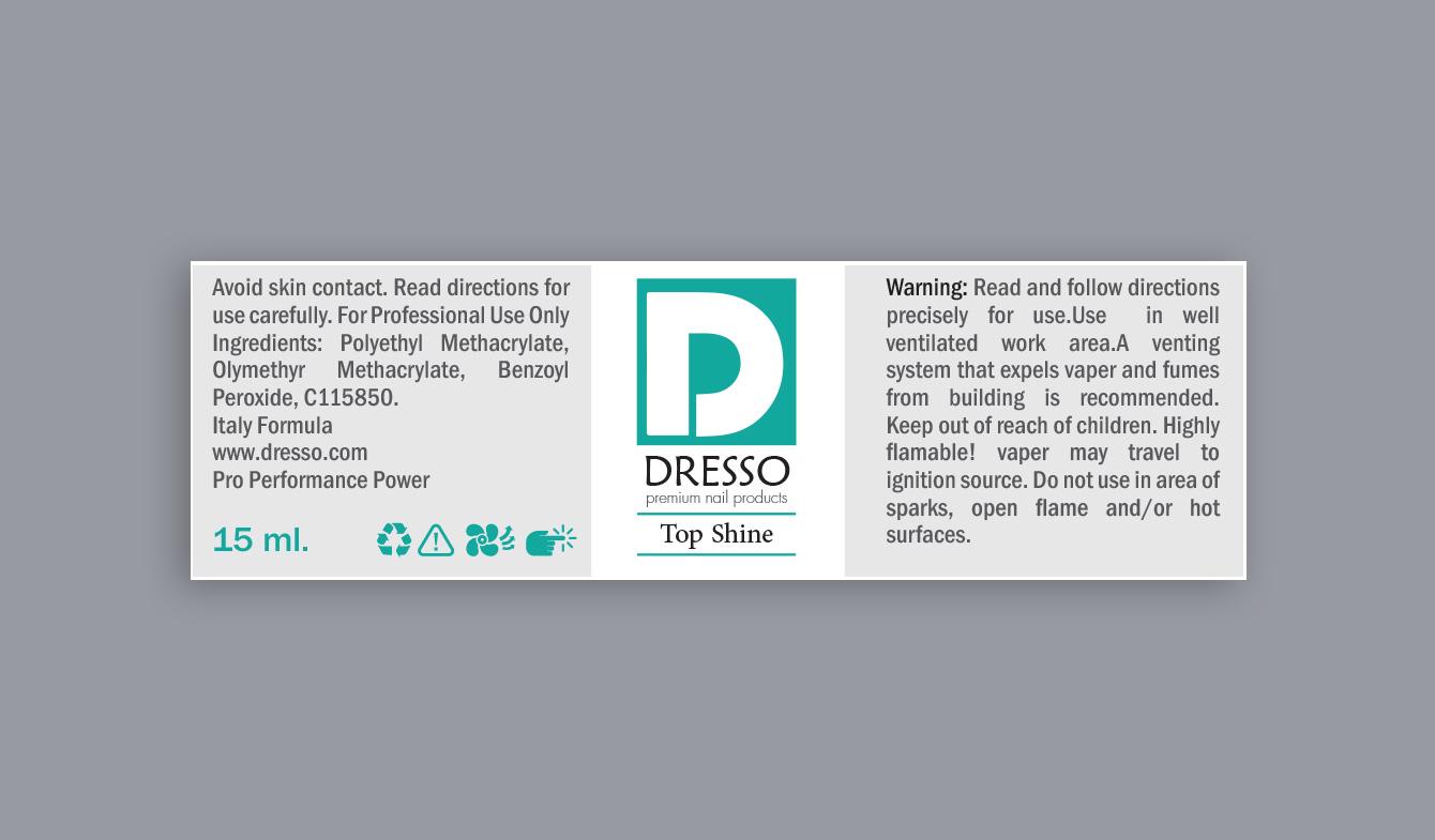 dresso logo and label design طراحی لوگو و لیبل درسو