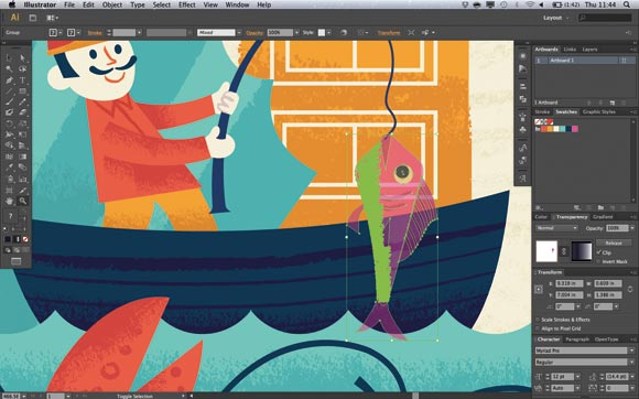 Adobe illustrator banner